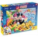 Puzzle de colorat Mickey la plaja (250 piese)