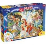 Puzzle de colorat Cartea junglei (108 piese)