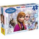 Puzzle de colorat maxi Anna si Elsa (60 piese)