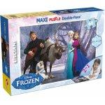 Puzzle de colorat maxi Elsa si prietenii (60 piese)