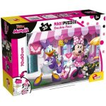 Puzzle de colorat maxi Minnie si Daisy la cumparaturi (35 piese)