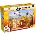 Puzzle de colorat maxi Regele leu (24 piese)