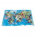 Puzzle educativ Animale pe cale de la disparitie 200 de piese Janod J02676