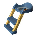Reductor toaleta cu 2 trepte Little Mom Training Seat Blue