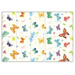 Saltea Sobble Butterfly World pliabila 1.4m 100% sigura eco-friendly Multicolor