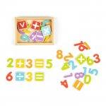 Set cu cifre si litere magnetice Ecotoys ESC-01834
