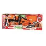 Set drujba electrica si echipament de protectie RS Toys