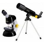 Set microscop cu telescop National Geographic
