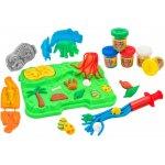 Set plastilina Globo plansa cu dinozauri
