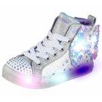 Sneakers Skechers 314015L Twi-Lites Starry Gem White Silver 27 (175 mm)