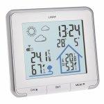 Statie meteo wireless Life TFA 35.1153.02 cu transmitator wireless extern inclus alb