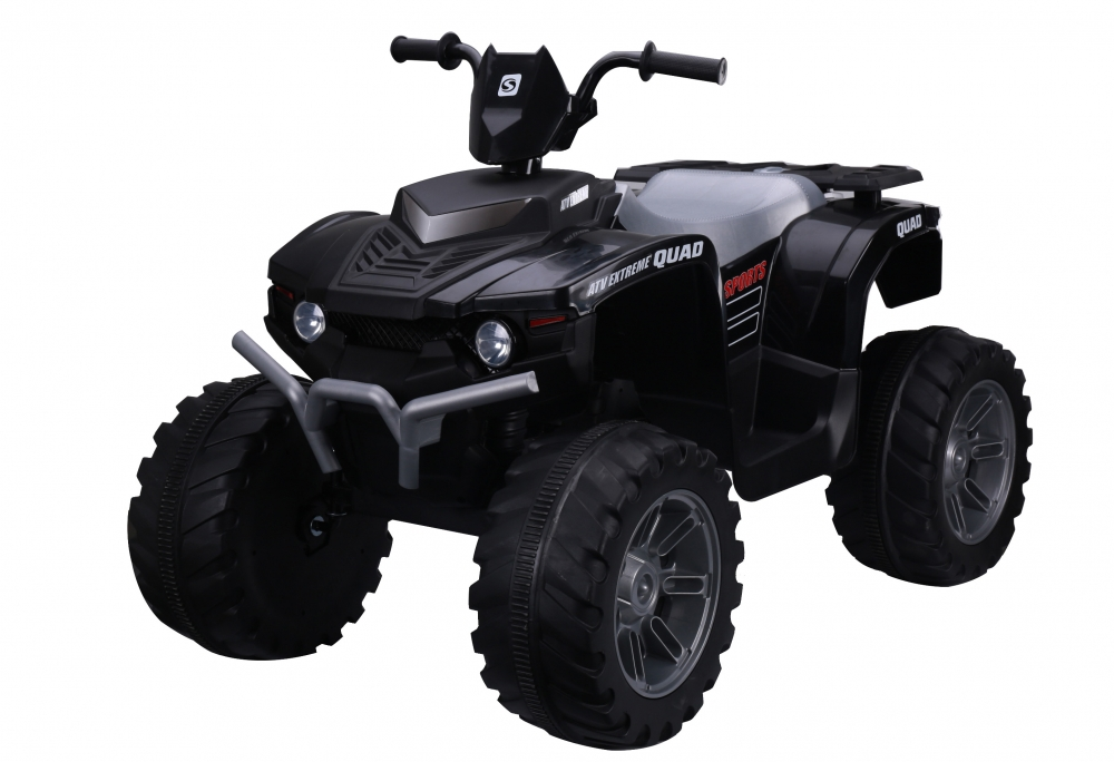 ATV electric Nichiduta Extreme Quad cu roti din cauciuc Black - 4