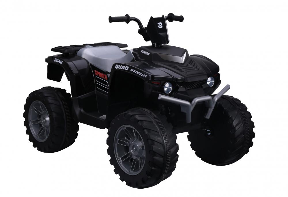 ATV electric Nichiduta Extreme Quad cu roti din cauciuc Black