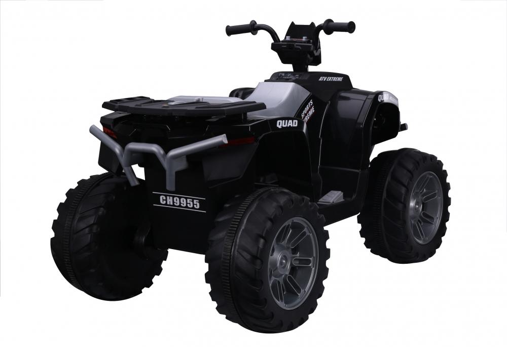 ATV electric Nichiduta Extreme Quad cu roti din cauciuc Black - 1