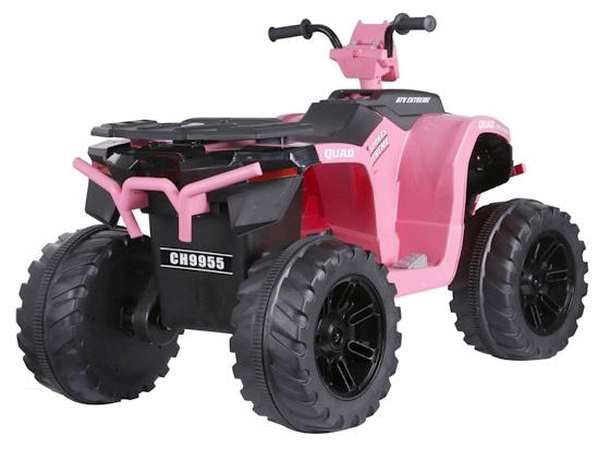 ATV electric Nichiduta Extreme Quad cu roti din cauciuc Pink