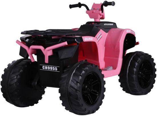 ATV electric Nichiduta Extreme Quad cu roti din cauciuc Pink - 1