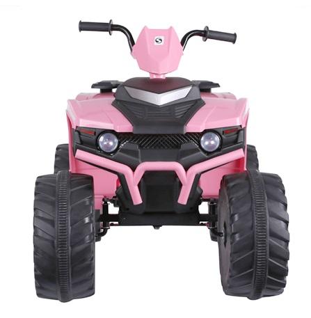 ATV electric Nichiduta Extreme Quad cu roti din cauciuc Pink - 2