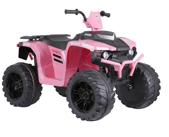 ATV electric Nichiduta Extreme Quad cu roti din cauciuc Pink - 3