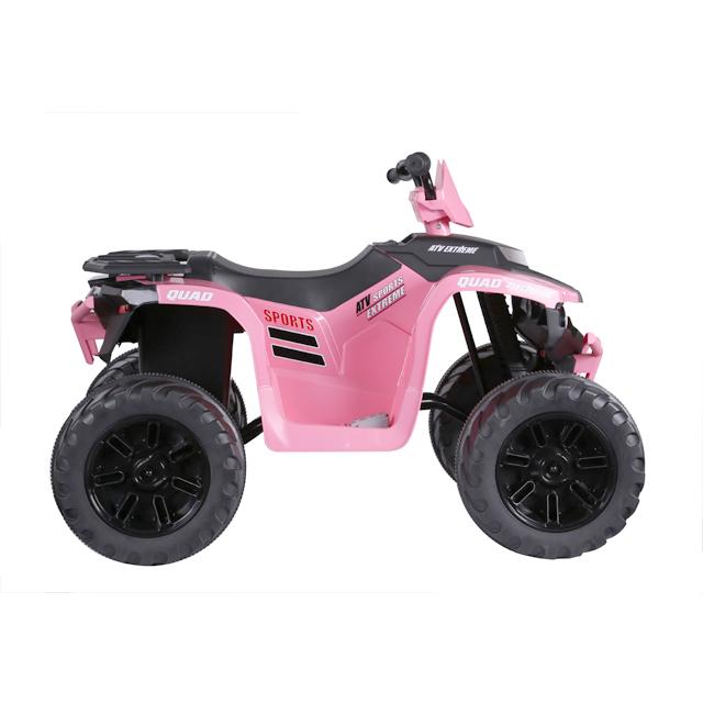 ATV electric Nichiduta Extreme Quad cu roti din cauciuc Pink - 5