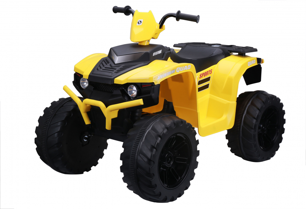 ATV electric Nichiduta Extreme Quad cu roti din cauciuc Yellow - 4
