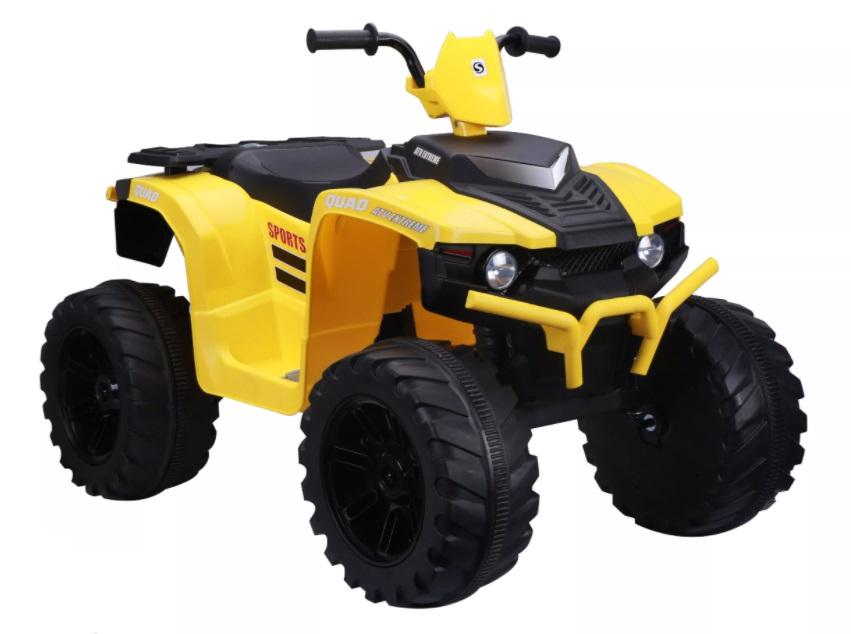 ATV electric Nichiduta Extreme Quad cu roti din cauciuc Yellow