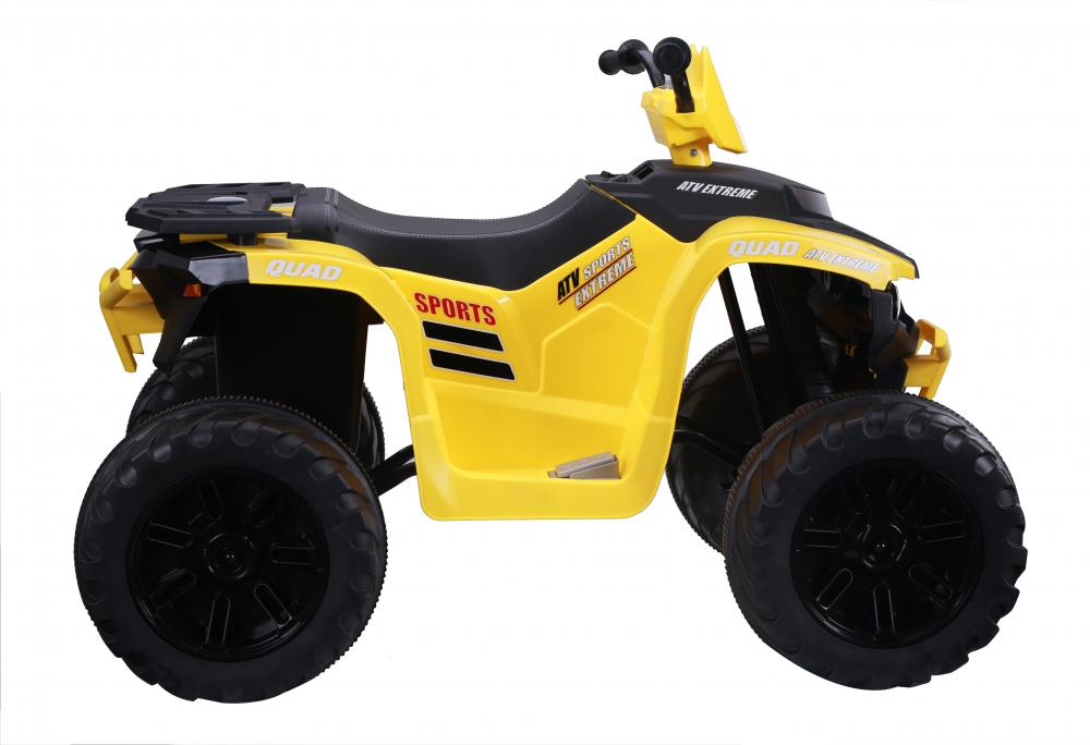 ATV electric Nichiduta Extreme Quad cu roti din cauciuc Yellow - 1