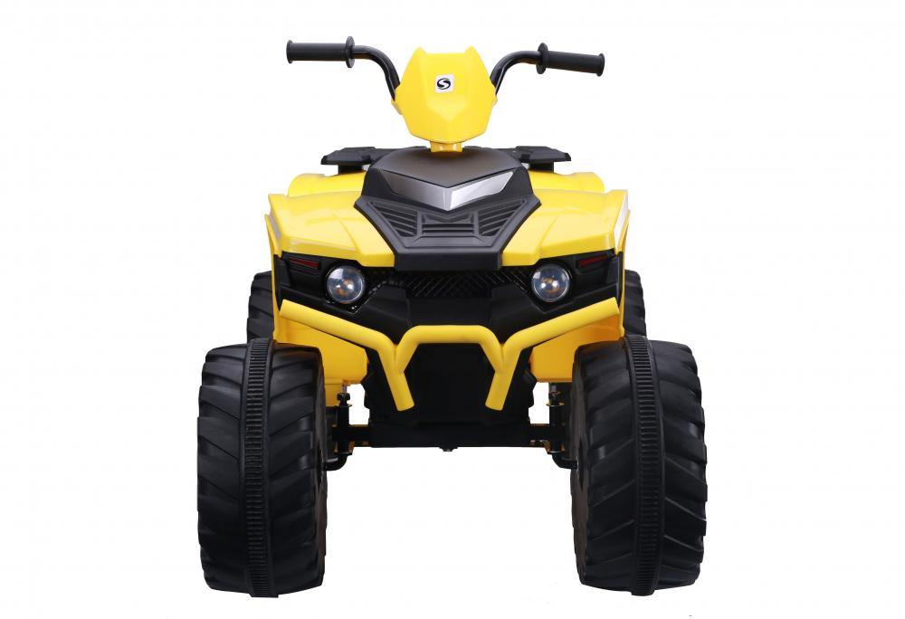 ATV electric Nichiduta Extreme Quad cu roti din cauciuc Yellow - 2