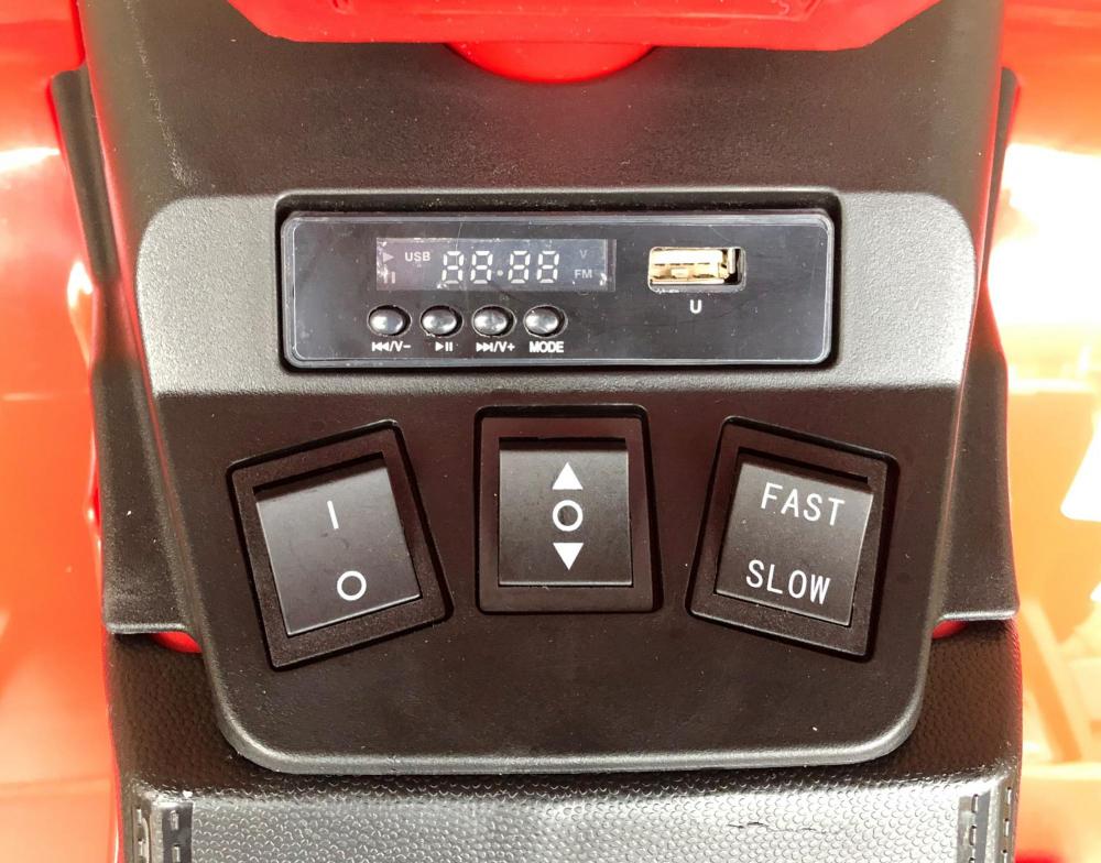 ATV electric Nichiduta Extreme Quad cu roti din cauciuc Yellow - 3