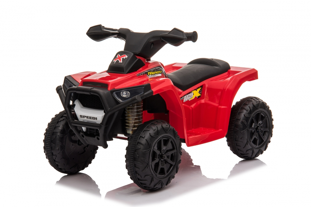 Atv electric 6V Nichiduta Racer X cu roti Eva Red
