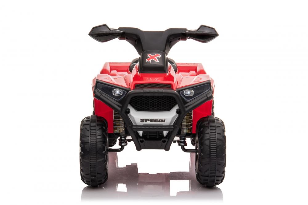 Atv electric 6V Nichiduta Racer X cu roti Eva Red - 2