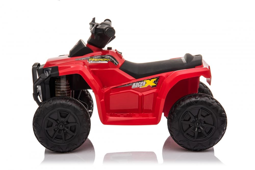 Atv electric 6V Nichiduta Racer X cu roti Eva Red - 3
