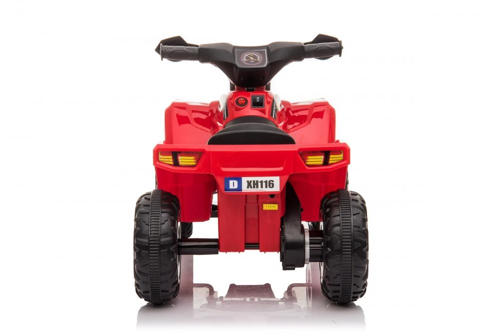 Atv electric 6V Nichiduta Racer X cu roti Eva Red - 4