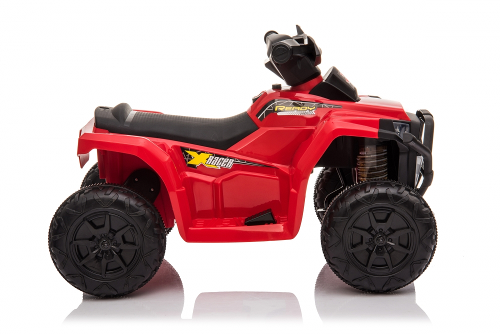 Atv electric 6V Nichiduta Racer X cu roti Eva Red - 7