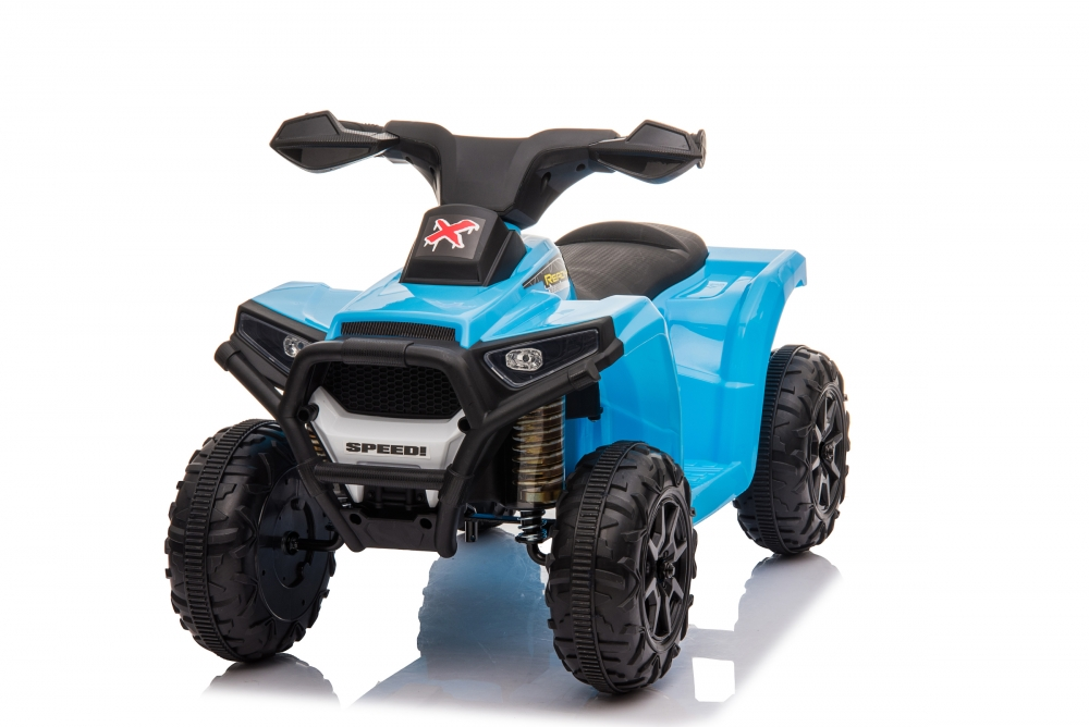 Atv electric 6V Nichiduta Racer X cu roti Eva Blue