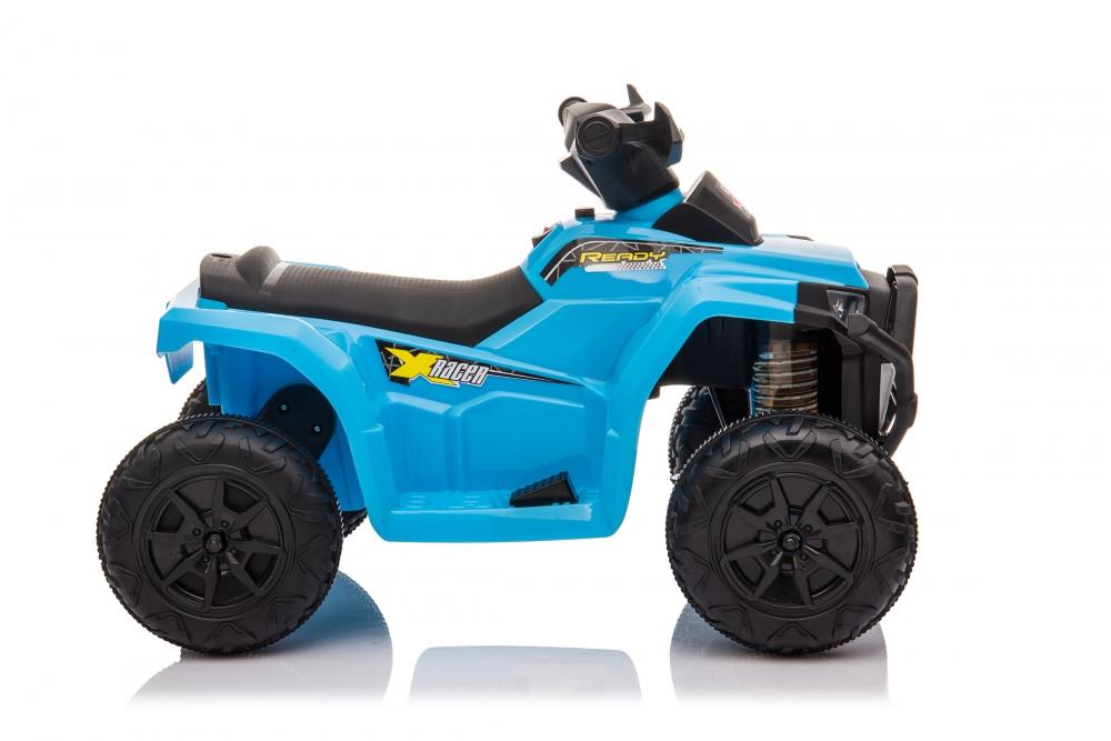 Atv electric 6V Nichiduta Racer X cu roti Eva Blue - 1