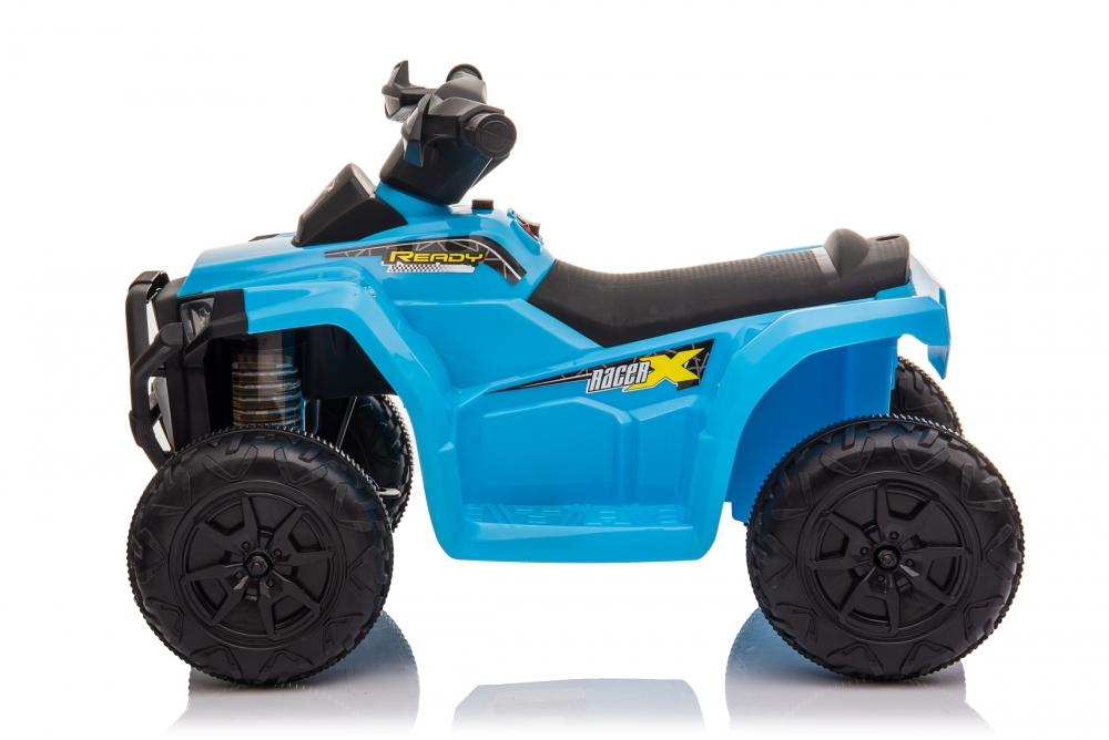Atv electric 6V Nichiduta Racer X cu roti Eva Blue - 3