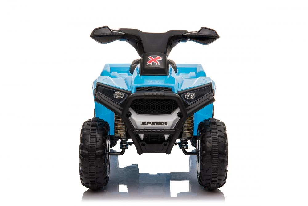 Atv electric 6V Nichiduta Racer X cu roti Eva Blue - 4