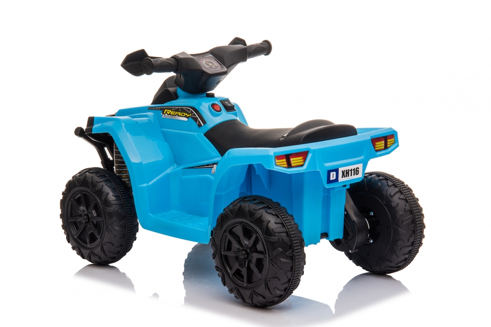 Atv electric 6V Nichiduta Racer X cu roti Eva Blue - 7