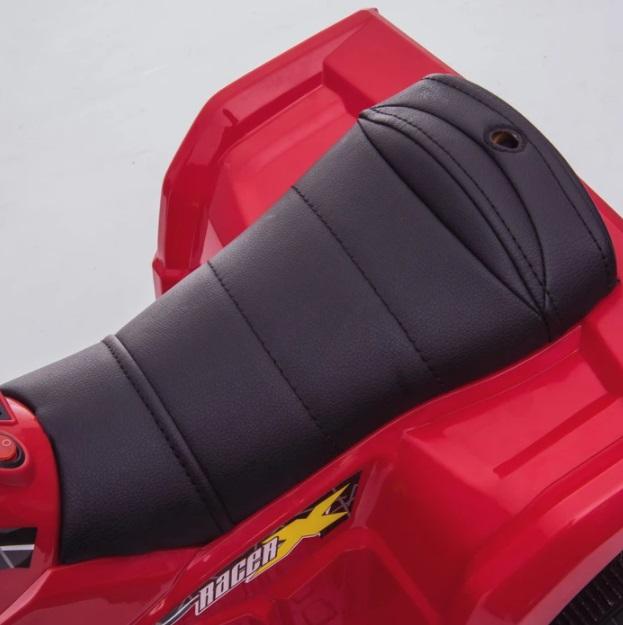 Atv electric 6V Nichiduta Racer X cu roti Eva Pink - 7