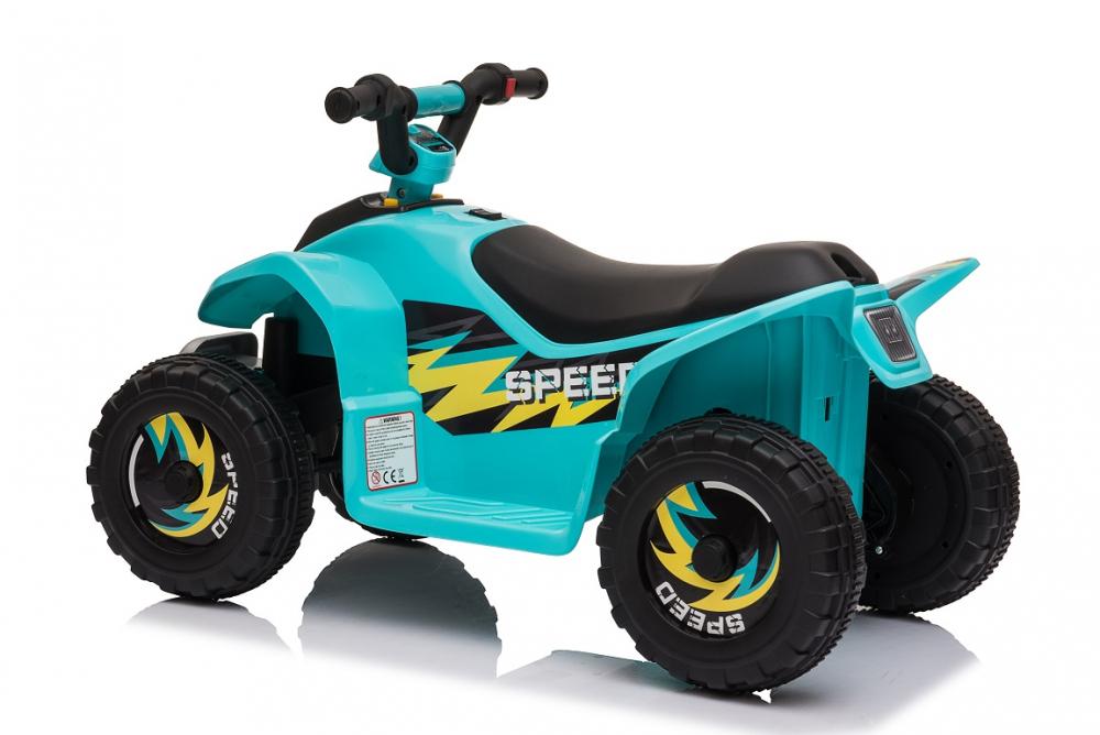 Atv electric 6V Nichiduta Speed 1 Blue - 3