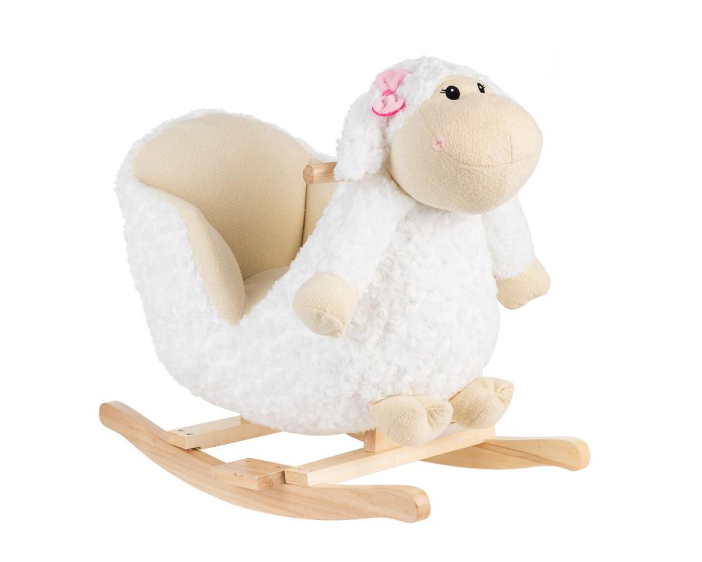 Balansoar Din Plus Cu Spatar Kikkaboo Sheep
