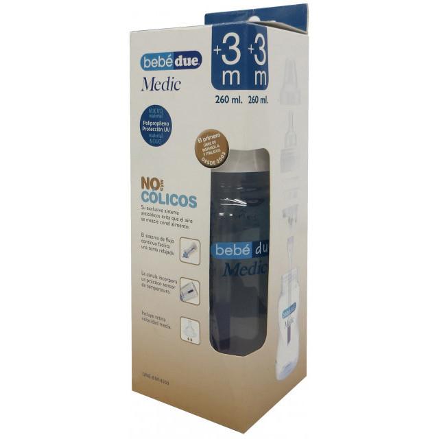 Biberon anti-colici 260 ml BebeduE 10086