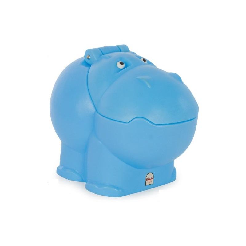 Cutie depozitare jucarii Hippo Toy Box Blue
