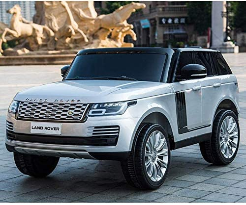 Masinuta electrica Range Rover Vogue 12V Limited Edition Silver - 2