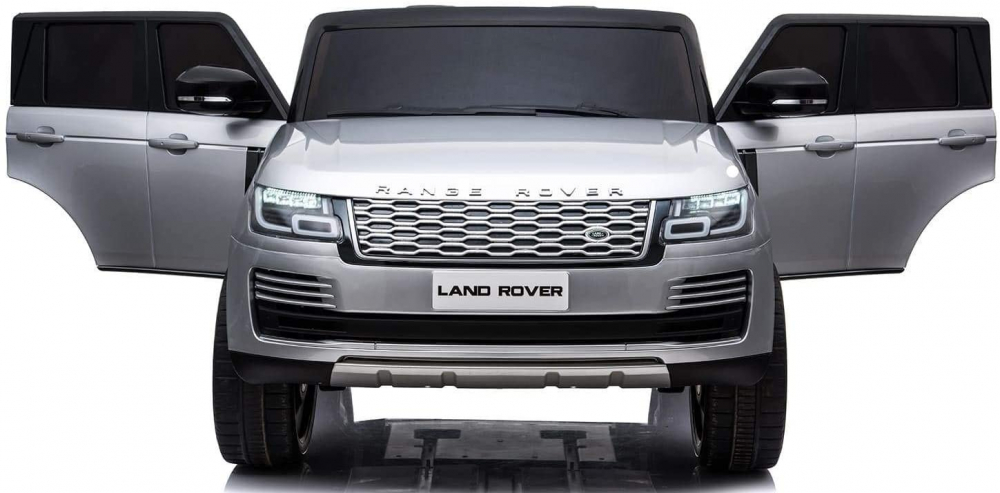 Masinuta electrica Range Rover Vogue 12V Limited Edition Silver - 4