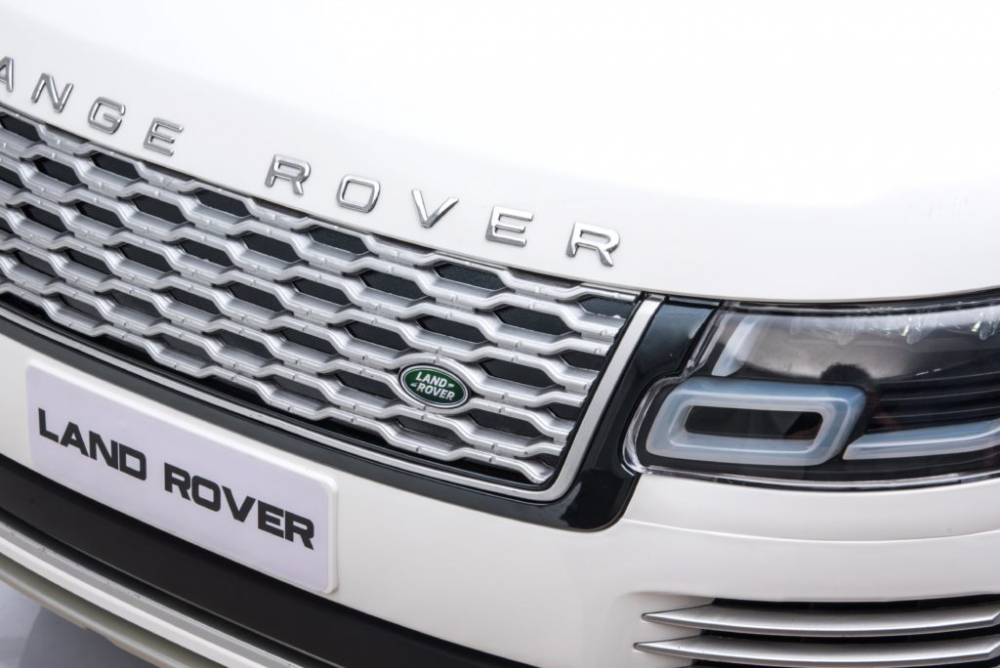 Masinuta electrica Range Rover Vogue 12V Limited Edition Silver - 5