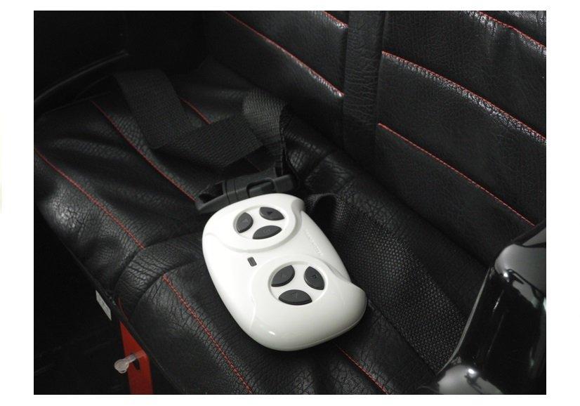 Masinuta electrica cu roti din cauciuc 12V Nichiduta UTV Pro White - 1