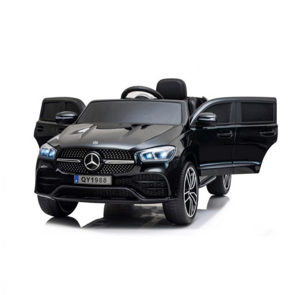 Masinuta electrica cu roti din cauciuc Mercedes GLE 450 AMG Black - 2