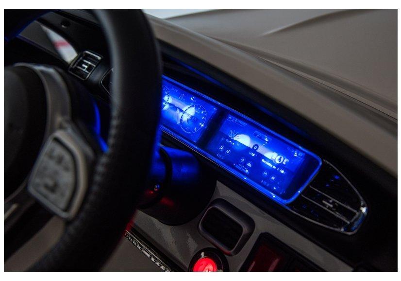 Masinuta electrica cu roti din cauciuc Mercedes GLE 450 AMG Black - 6