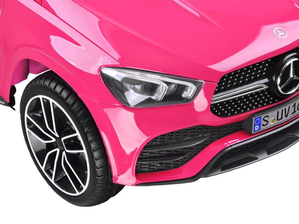 Masinuta electrica cu roti din cauciuc Mercedes GLE 450 AMG Pink - 1